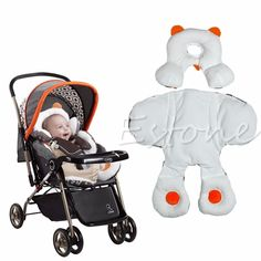 Soft Newborn Baby Head&Body Support Infant Pram Stroller Car Seat Cushion Pillow