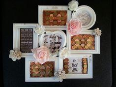 An nice selfmade weddinggift / mooi zelfgemaakt huwelijkscadeau