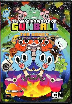 THE AMAZING WORLD OF #GUMBALL - DVD PAL Color - Vol.10 #CartoonNetwork #Kids Fun