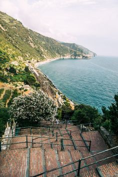 "Cinque Terre refers to the centuries-old ""five lands"". Read on to learn more about the five most picturesque spots in Cinque Terre. Places To Travel, Travel Destinations, Cinque Terre Italy, Regions Of Italy, Beach Scenes, Stunning View, Where To Go, Italy Travel, Adventure Travel"
