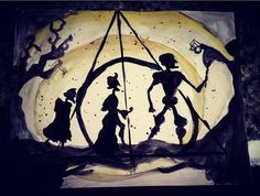 The Tale of the Three Brothers by TheCureIsWild on Etsy