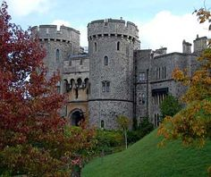 Windsor Castle, England - It is a popular tourist attraction, a venue for hosting state visits, and the Queen's preferred weekend home.
