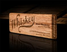 #Business #Card #creative #Inspiration #wooden #design #art #unique #brand #identity