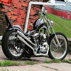Shovelhead chopper Chopper motorcycles and custom motorcycles. Sometimes bobbers but mostly choppers, short chops and custom bikes. Triumph Motorcycles, Vintage Motorcycles, Custom Motorcycles, Custom Bikes, Ironhead Sportster, Sportster Chopper, Chopper Motorcycle, Girl Motorcycle, Motorcycle Quotes