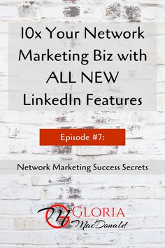 HUGE Opportunities for YOU to 10x Your Business!  Last week, LinkedIn announced incredible changes to what you can do with Messaging.  This is a breakthrough and is totally changing my strategy for how to use LinkedIn and what I teach.  In this podcast, I share what's new.  I'll explain... ♦️ the new features and why they're HUGELY beneficial to you and your business ♦️ my new strategy for using LinkedIn to prospect & recruit ♦️ PLUS...How to OPTIMIZE LinkedIn for Product Sales!
