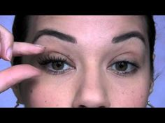 How To Apply False Lashes....will I or won't I?! With her help guess you'll never know if I do ;-)