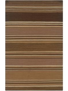 This Swing Collection earth tone rug (SG0457) is manufactured by Rizzy Rugs. Flat-woven rugs have been a favorite for centuries.