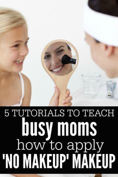Love the 'au naturel' look, but worry you'll permanently scar your child's friends if you show up at the bus stop without makeup on? No worries! This collection of everyday makeup tutorials will help you get that natural makeup look we all know and love!