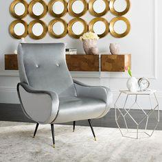 Sodam Velvet Lounge Chair