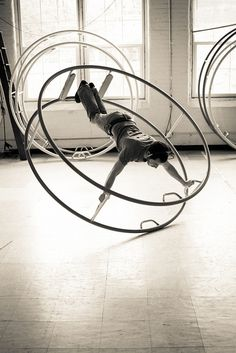 wheel - I have yet to witness a performance in real life, but it's such an interesting concept, definitely!