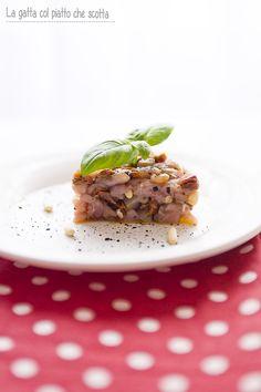 Tartar di tonno con pomodorini secchi