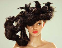 Nagi Noda, Animal Hat Sculptures