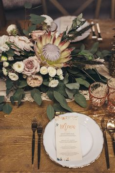 tropical bohemian wedding decor by Le Jour du Oui @ The Love Affair