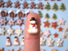 Miniature Xmas Cookies - Preview by PetitPlat - Stephanie Kilgast, via Flickr