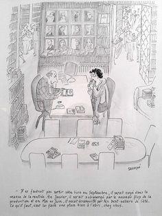 Sempé se dévoile au Salon du Livre, 22/03/2014