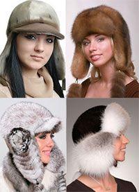 Выкройки зимних шапок - 5 моделей. Winter hats patterns.