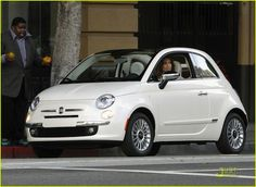 JLO and White Fiat