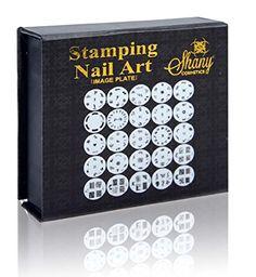 SHANY 2012 Nail Art Polish Stamp Manicure Image Plates set of 25pcs Buy Now: $14.95
