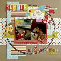 A Project by Lisa Swift from our Scrapbooking Gallery originally submitted 05/14/12 at 07:01 AM
