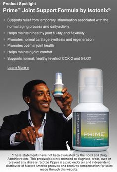 Prime™ Joint Support Formula by Isotonix®  http://isotonix.marketamerica.com/fabulouslyfit/USA/Search/Product/3519556