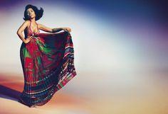 Nicki Minaj for Roberto Cavalli S/S 2015 (Photo Credits: Francesco Carrozzini)