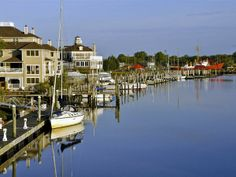 Grab a cup of coffee on Second Street in Lewes, Delaware & take a stroll on the canalfront.
