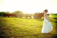 Gotta love the tractor! =)