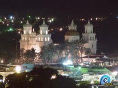 night time in Esquipulas Guatema C.A.
