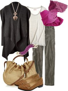 """""""Love the scarf"""" by simple-wardrobe on Polyvore"""