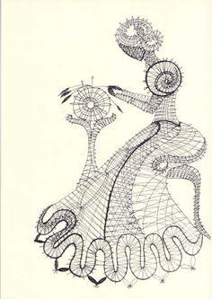 Web Pics and Patterns - Blanca Torres - Picasa Albums Web Web Pics, Bruges Lace, Bobbin Lacemaking, Bobbin Lace Patterns, Yarn Thread, Lace Heart, Lace Jewelry, Tatting Lace, Crochet Diagram