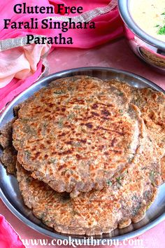 agents and is generally consumed during fasting/vrat. These parathas are a delicious alternative to regular wheat parathas. Healthy Gluten Free Recipes, Healthy Crockpot Recipes, Healthy Meals For Kids, Vegetarian Recipes, Veggie Recipes, Vegan Vegetarian, Healthy Food, Healthy Eating, Gluten Free Flatbread