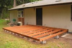 A deck makes a nice addition to a home creating additional outdoor living space. A homeowner may be a little wary of undertaking a deck project as pouring a concrete foundation may be an intimidating task for him. Using deck blocks practically eliminate
