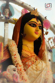 Maa Durga by Sharmila Deshpande on Maa Durga Photo, Maa Durga Image, Maa Image, Image Hd, Kali Goddess, Mother Goddess, Maa Wallpaper, Durga Ji, Durga Images