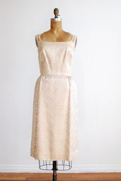 c49d0ac62f5 1950s evening wiggle dress Vintage 1950s Dresses