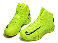 Nike Lunar Hyperdunk 2012 Away Brazil Volt Black Shoes Nike Free Shoes, Nike Shoes Outlet, Running Shoes Nike, Green Basketball Shoes, Sports Shoes, Nba Basketball, Nike Lunar, White Adidas Trainers, Adidas Ultra Boost Uncaged