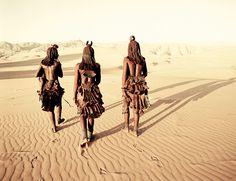 Himba im Hartmann Tal, Cafema