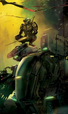 The Work of Stephan Martiniere » Book Covers