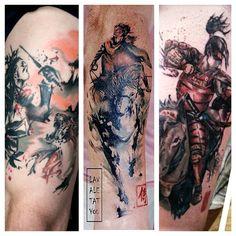 www.lavaletatyou.co.uk Tattoo Artists, Watercolor Tattoo, Tattoos, Tatuajes, Watercolour Tattoos, Tattoo, Watercolor Tattoos, Tattoo Illustration, Irezumi