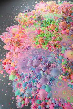 Candyland Dreamscapes Come To Life Seeing Forever, 2012 Kuandu Biennale, KdMoFA, Taipei photo: Chiu Te-Hsing Cute Wallpapers, Wallpaper Backgrounds, Iphone Wallpaper, Fractal, Candy Art, Form Design, Balance Design, Color Balance, Psychedelic Art