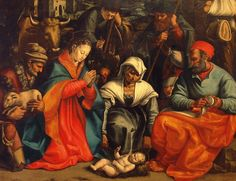 Dono Doni, Adorazione dei Pastori