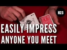 Magic Tricks Tutorial, Easy Magic Tricks, Card Tricks Revealed, Cool Card Tricks, Learn Magic, Bicycle Cards, Things To Do With Boys, Sleight Of Hand, Card Games