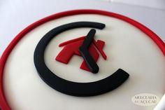 Estate Agency Cake detail - Pormenor Bolo Arrenda na Hora