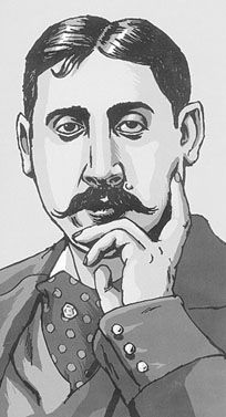 """proust, practise, practice"" from a blog. ""I pulled out my copy and noted that I first finished it in 1996, then re-read it in 2000 and again in 2007."" JJ"