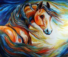 """Thunder Wind 2012"" par Marcia Baldwin"