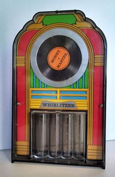 Awesome Retro Whirlitzer Money Master Jukebox Bank Coin Separater Hong Kong