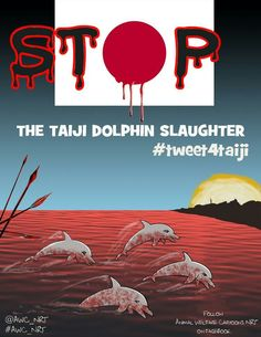 When the #Taiji #Fishermonsters go out, we start!  We are watching, we are listening, we are stubborn and not going ANYWHERE until this nightmare ends. #tweet4taiji #tweet4dolphins