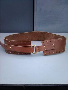 78ebfaeeb Abercrombie & Fitch Studded Leather Belt Size S #fashion #clothing  #shoes #