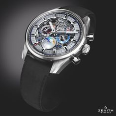 Zenith Watches The new Chronomaster El Primero Grande Date Full Open unveils the heart of performance and precision #ZenithWatches #Watches