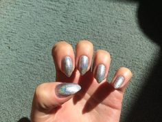 Holographic nails.