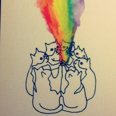 cats, rainbows, ritual....I can dig it